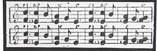 Mayco Designer Stamps ST130 Musical Notes