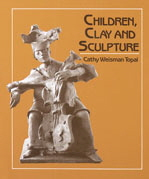 Books Children Clay Sculpture